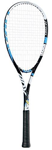 ヨネックス(YONEX) ソフトテニス ラケット 入門用 ADX7 ライト (張り上がり) ブラック×ブルー ADX7LTG