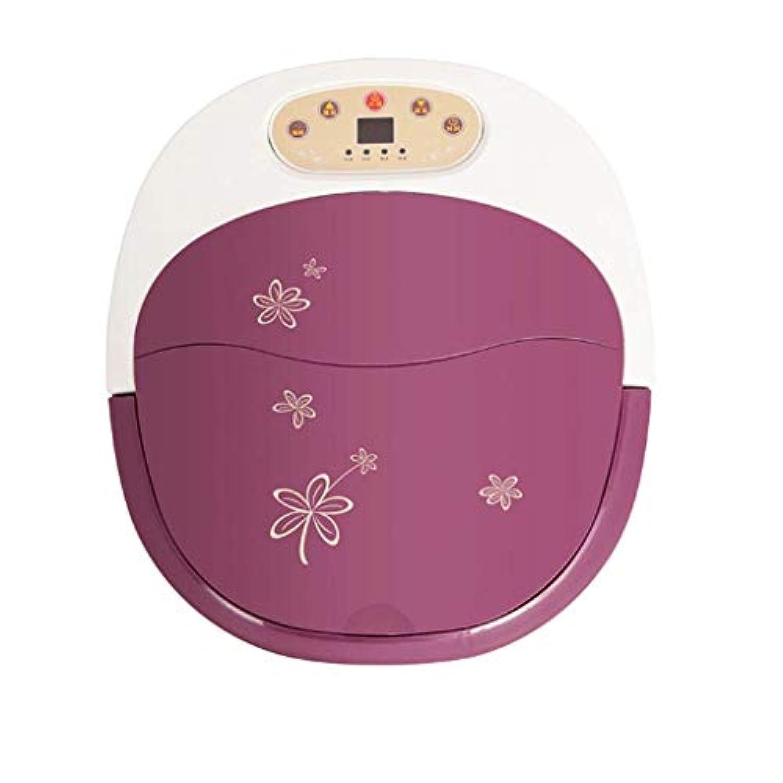 ZAQXSW 足浴槽自動マッサージ足湯電気足浴樽恒温高深樽泡ふくらはぎ家庭