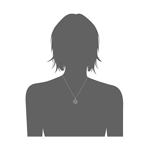 スターリングシルバー セルティック ノット ペ...の紹介画像2