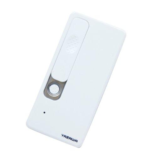 ヤザワ USB充電式ライター 安全機能付き LED電球搭載 TVR23WH