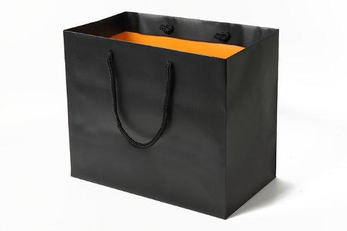 スタジオK 引き出物袋OR(大)(ブラック×オレンジ)