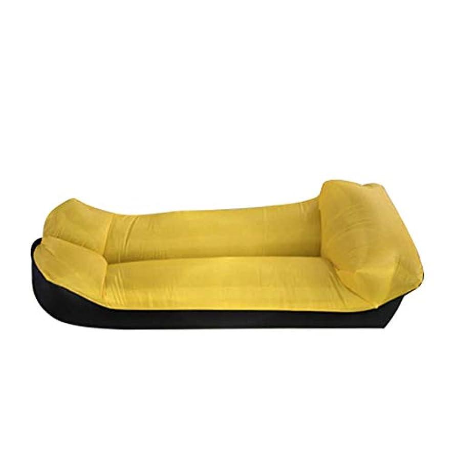 励起露出度の高いごちそう作り付け枕が付いている防水浜のソファー膨脹可能なリクライニングチェア寝室のための携帯用エアベッドソファー旅行キャンプ,A
