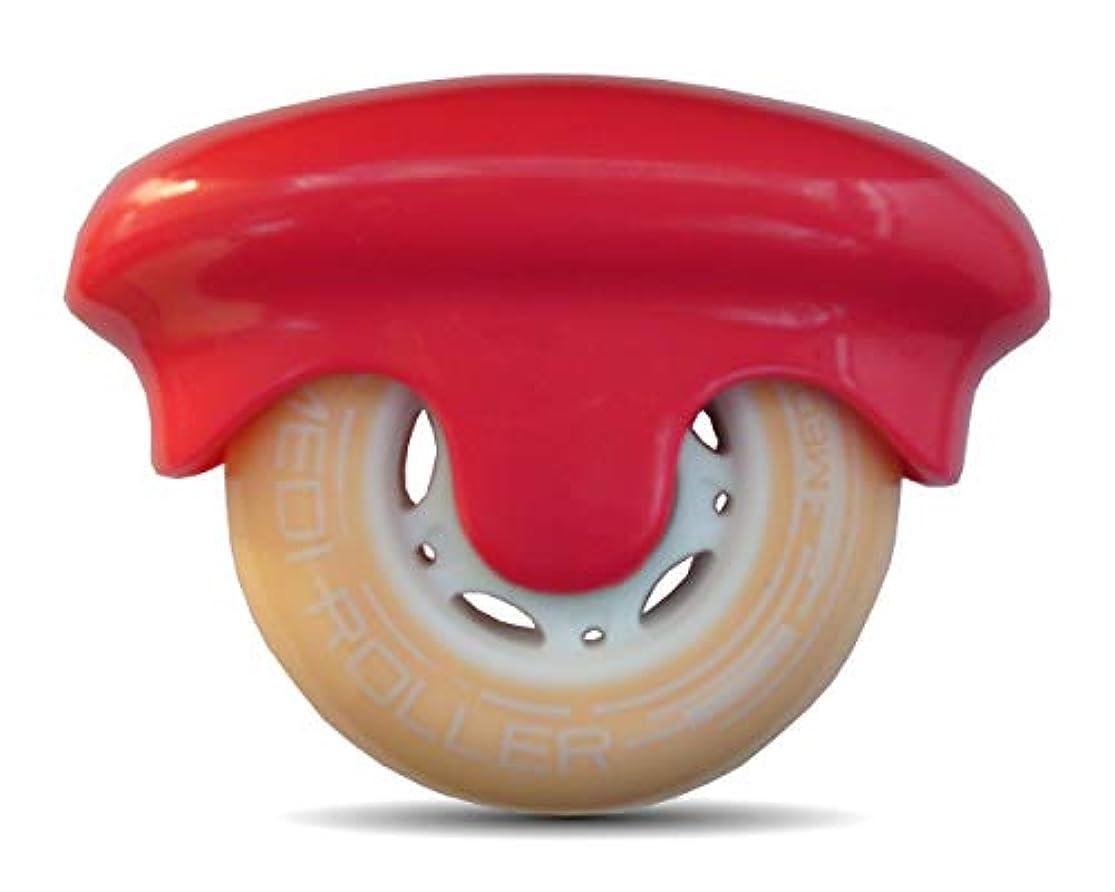 ヒール蒸エンジンMEDI ROLLER (メディローラー) 巾着付き 点で押すセルフローラー (ピンク)