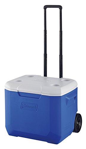 コールマン クーラーボックス ホイールクーラー/60QT ブルー/ホワイト 2000027863
