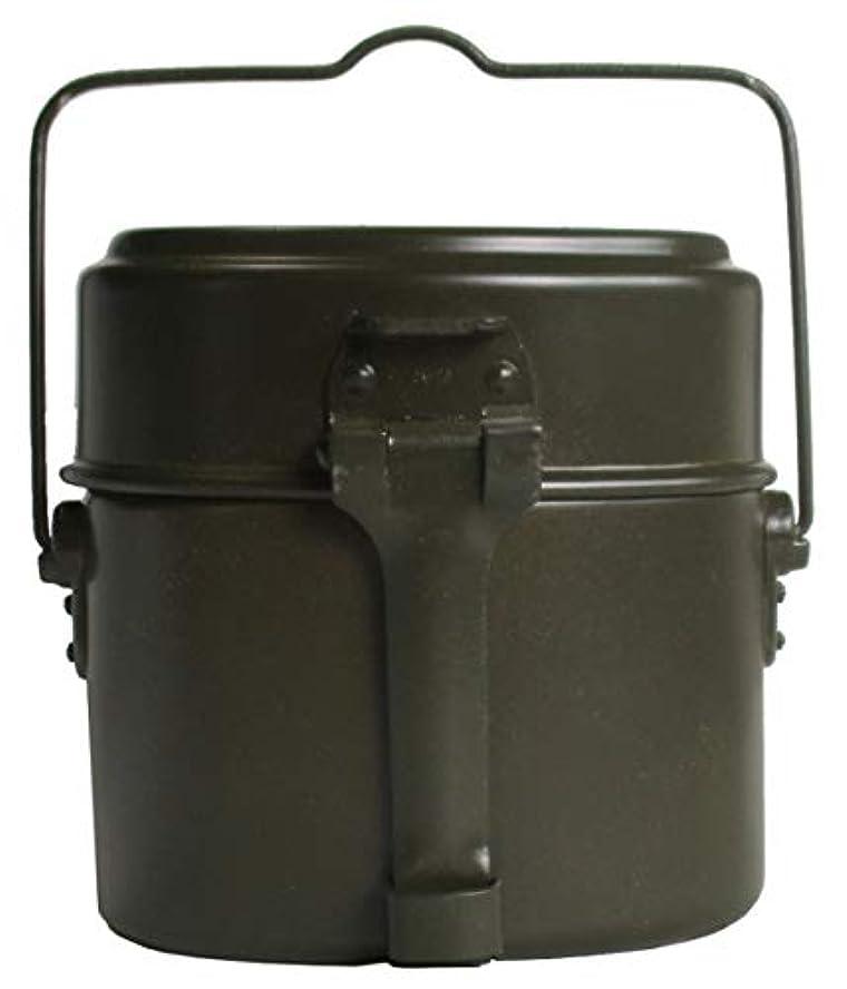 項目虚弱クラシックBW ドイツ連邦軍 オリジナル メスキット 飯盒 3ピース 軍払下 未使用品 刻印 CM-76