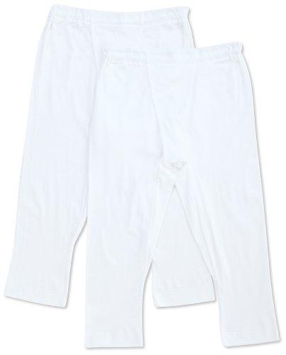 (グンゼ)GUNZE 半ズボン下(前あき) やわらか肌着 綿100% 抗菌防臭加工 2枚組 SV61072 03 ホワイト LL
