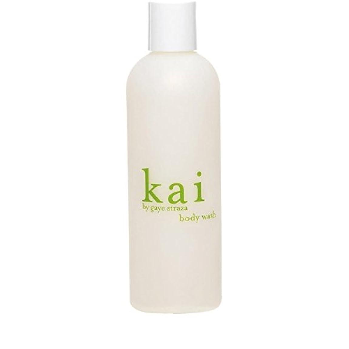 紳士気取りの、きざなブロンズ入浴Kai by Gaye Straza Kai Body Wash 235ml (Pack of 6) - ゲイ?ストラザ会ボディウォッシュ235ミリリットルによって会 x6 [並行輸入品]