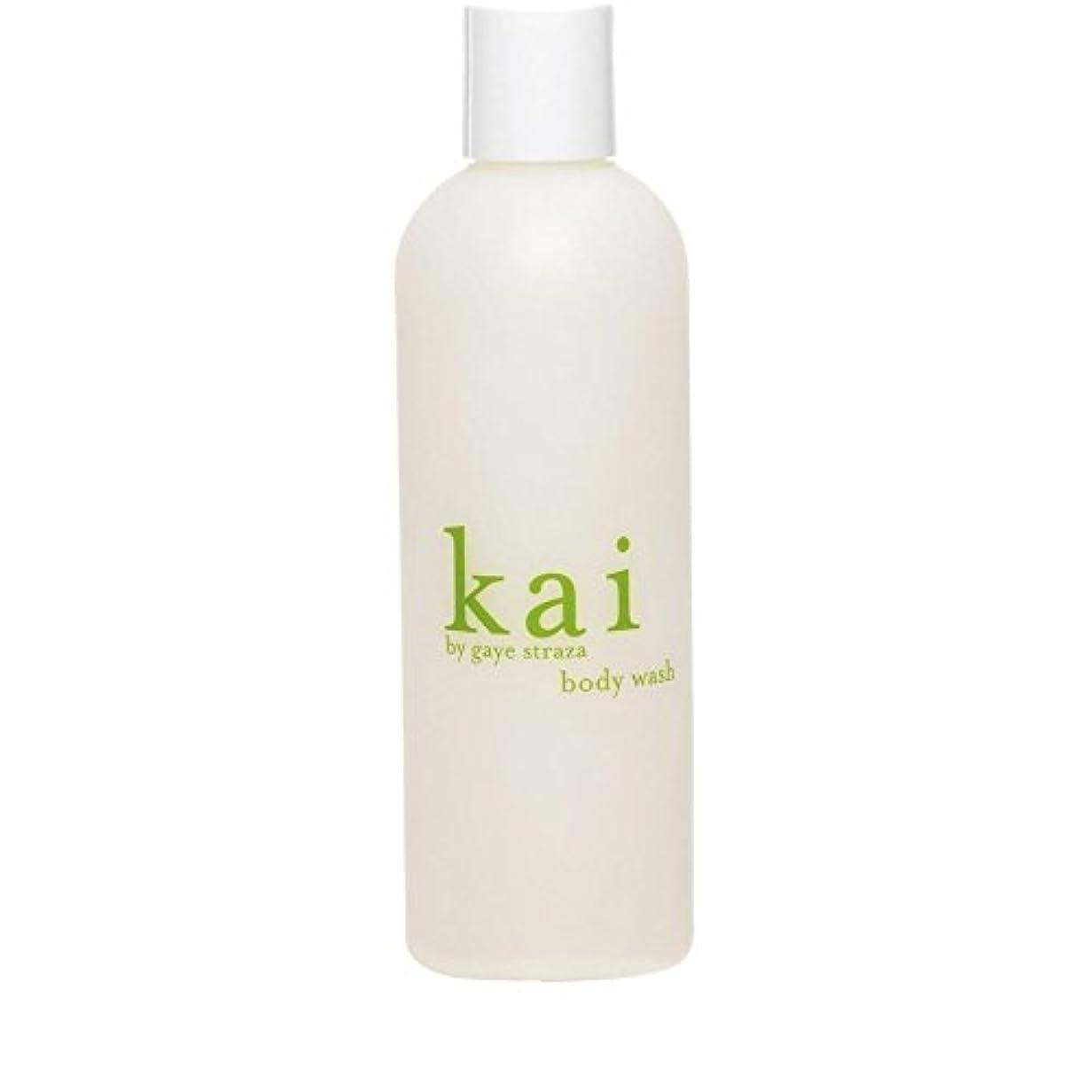 フリッパー墓ゲイ?ストラザ会ボディウォッシュ235ミリリットルによって会 x4 - Kai by Gaye Straza Kai Body Wash 235ml (Pack of 4) [並行輸入品]
