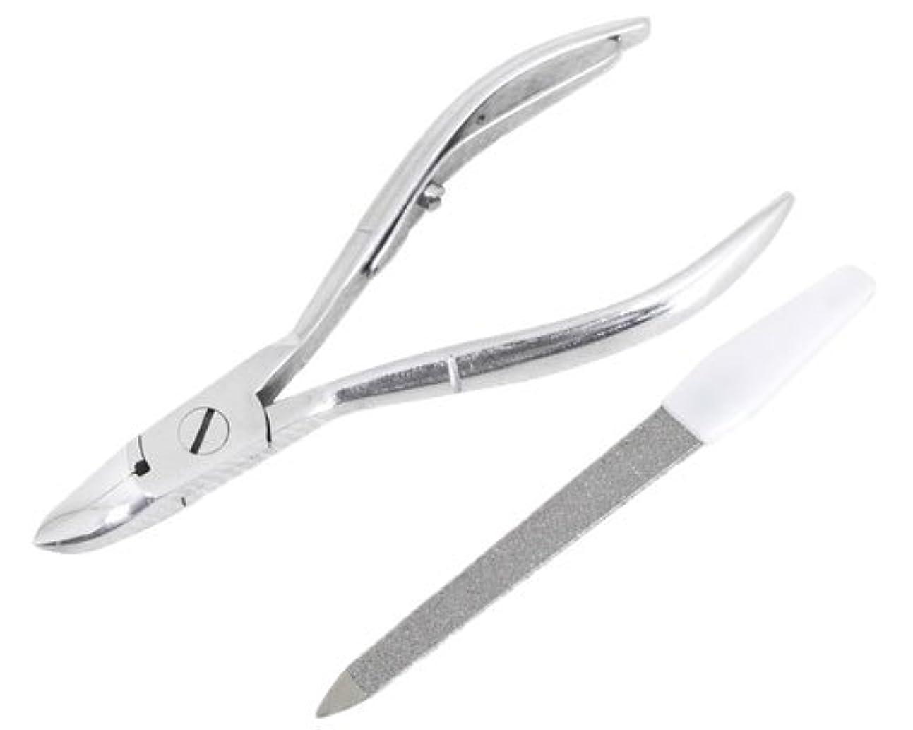ファウルタブレットハロウィンニッパー型爪切り 爪仕上げヤスリ付 F-21 (スミカマ)
