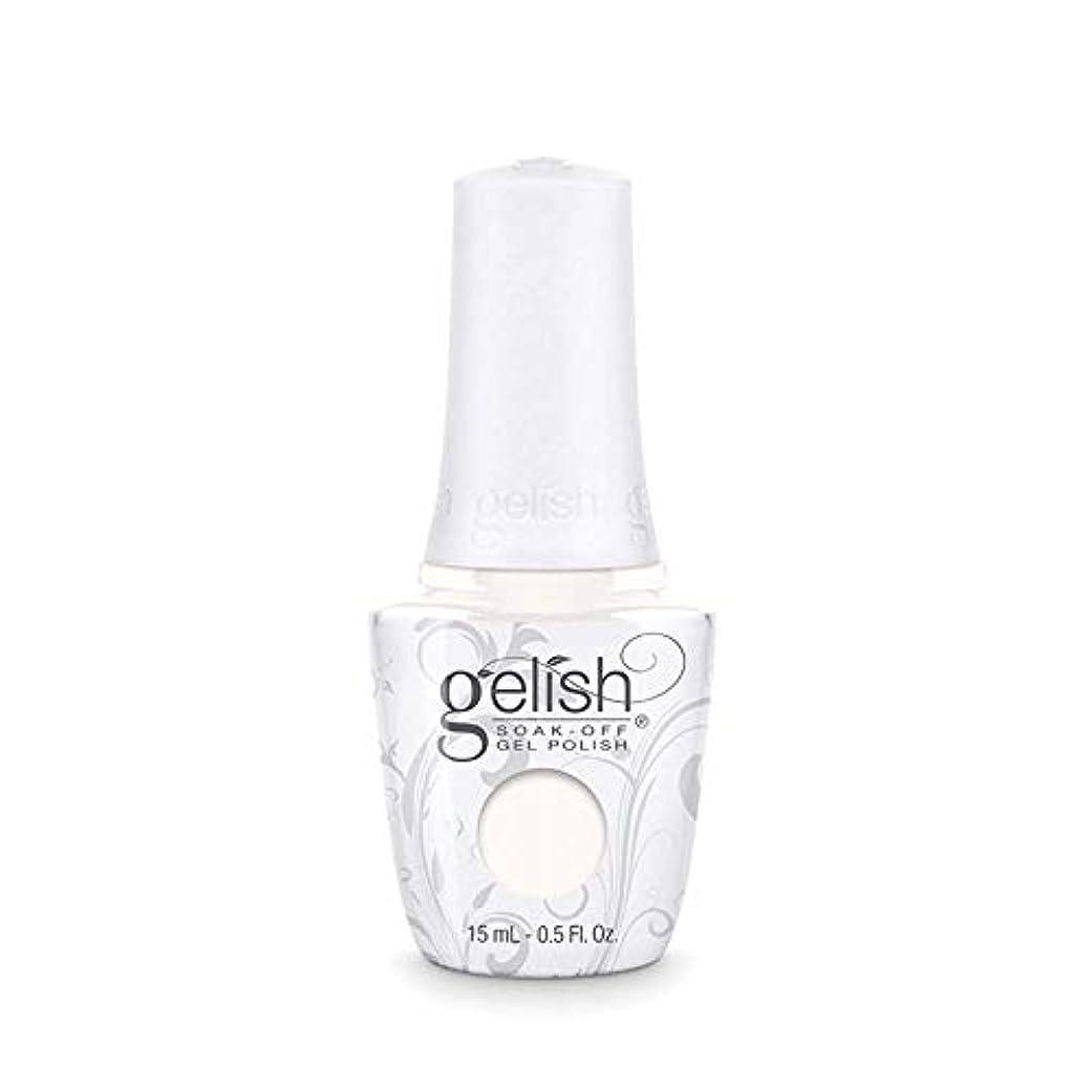 図クラウド軽減するHarmony Gelish Gel Polish - Sheek White - 0.5oz / 15ml