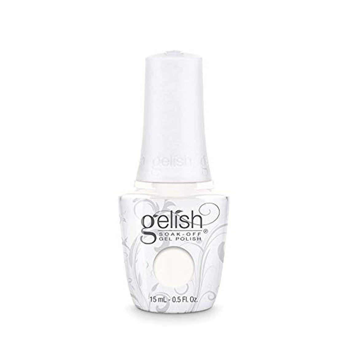 パワー列挙する割れ目Harmony Gelish Gel Polish - Sheek White - 0.5oz / 15ml