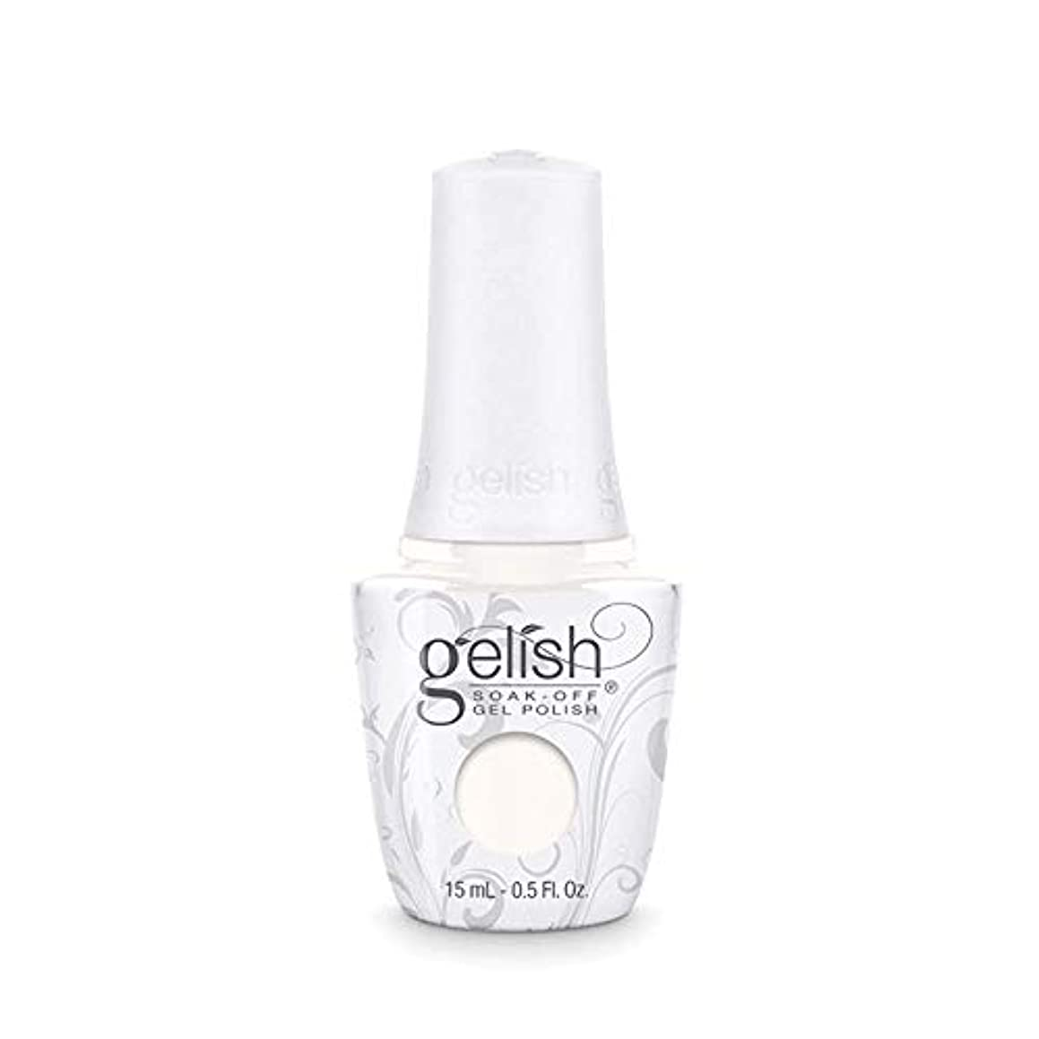 コウモリ断片本物のHarmony Gelish Gel Polish - Sheek White - 0.5oz / 15ml