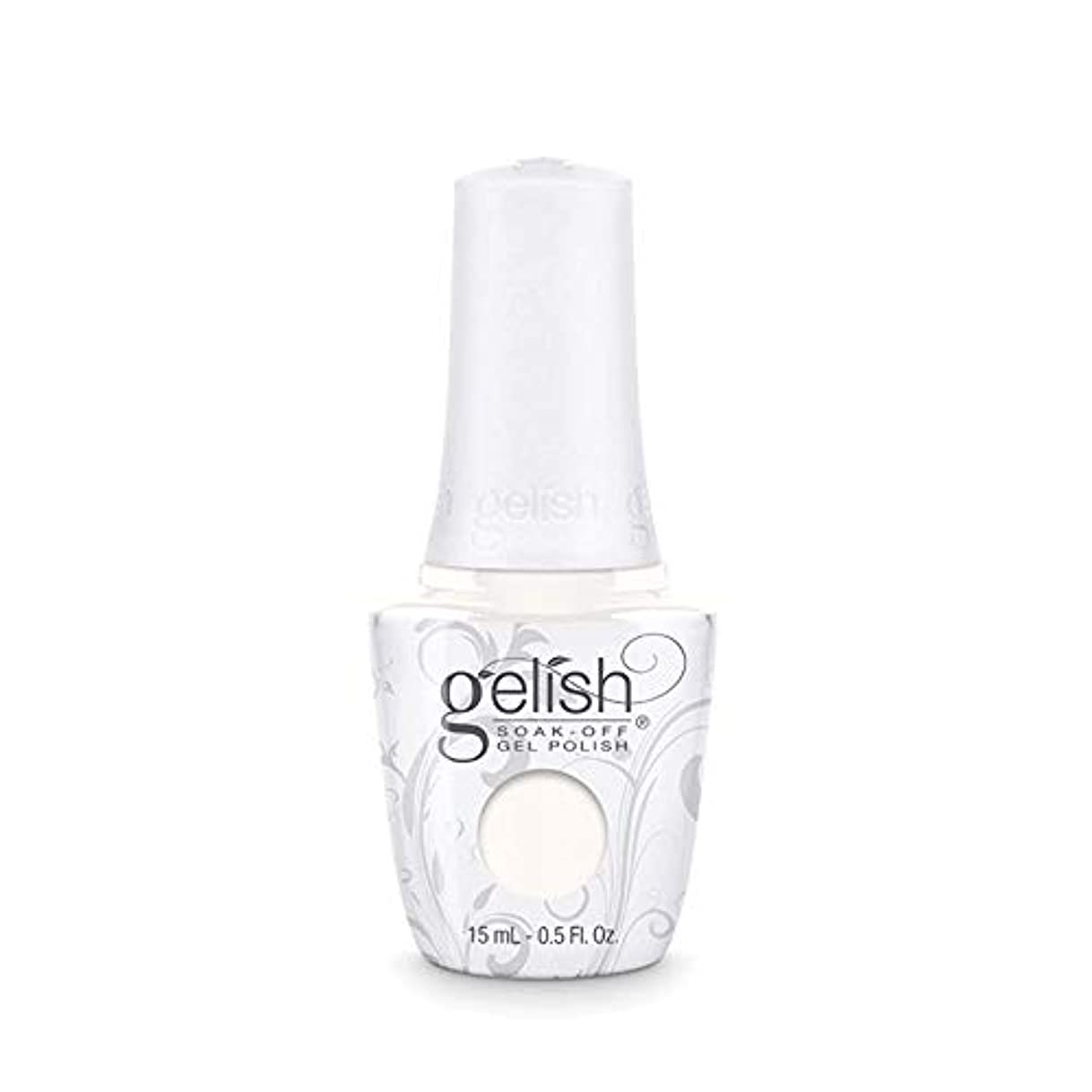 ホイットニー無知多数のHarmony Gelish Gel Polish - Sheek White - 0.5oz / 15ml