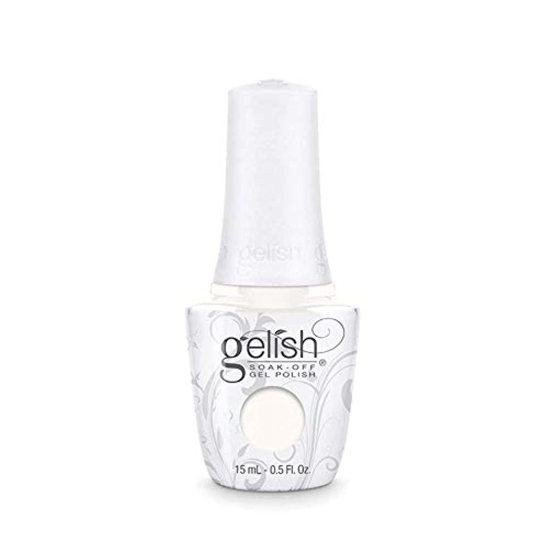 立派なリテラシーソーダ水Harmony Gelish Gel Polish - Sheek White - 0.5oz / 15ml