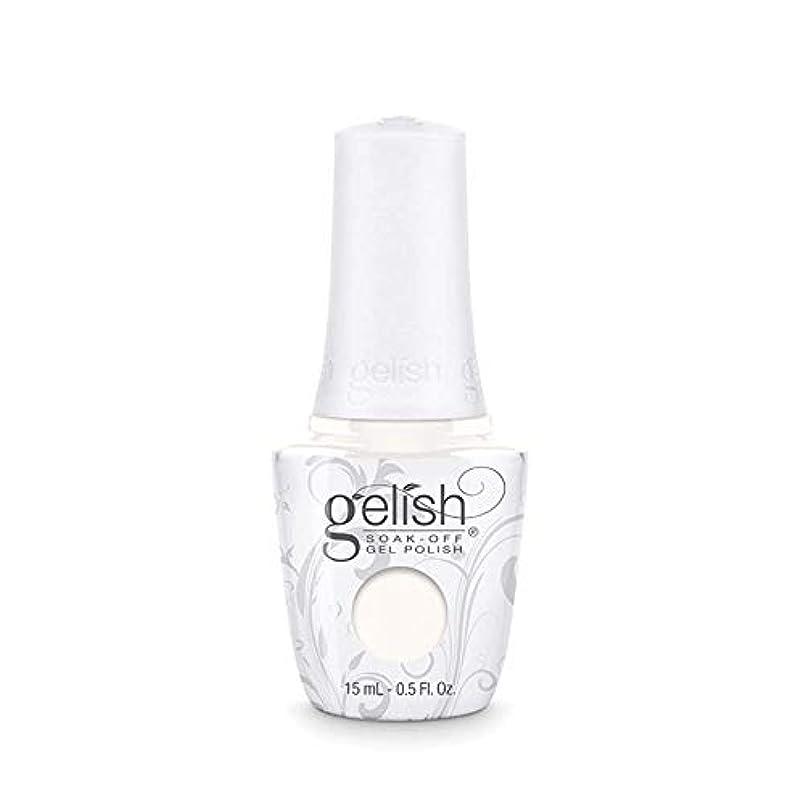投げる下位失速Harmony Gelish Gel Polish - Sheek White - 0.5oz / 15ml