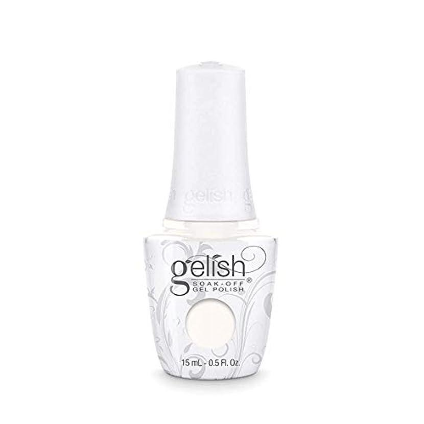 社会科騒々しいインフルエンザHarmony Gelish Gel Polish - Sheek White - 0.5oz / 15ml