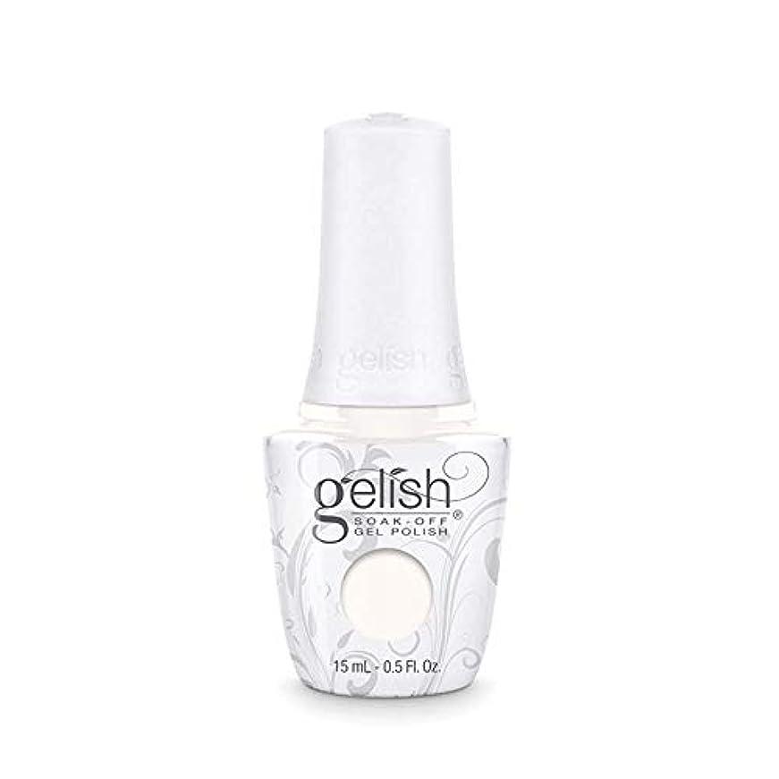 きれいにパーツ聴くHarmony Gelish Gel Polish - Sheek White - 0.5oz / 15ml