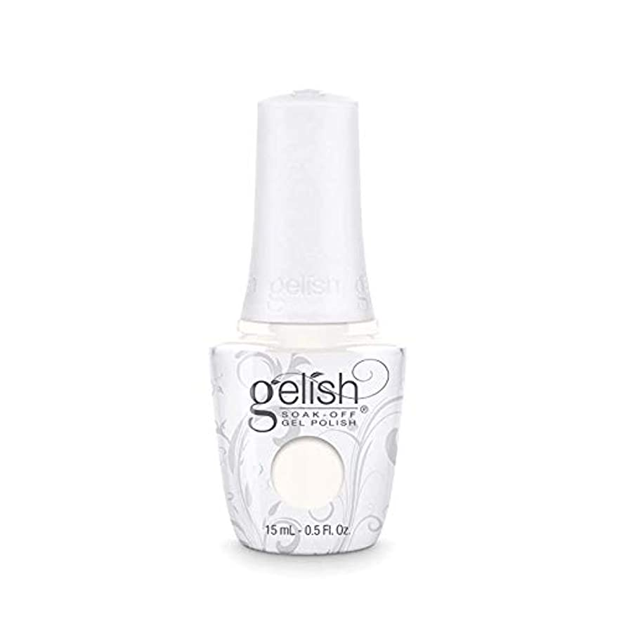 駅かき混ぜるバイオリニストHarmony Gelish Gel Polish - Sheek White - 0.5oz / 15ml