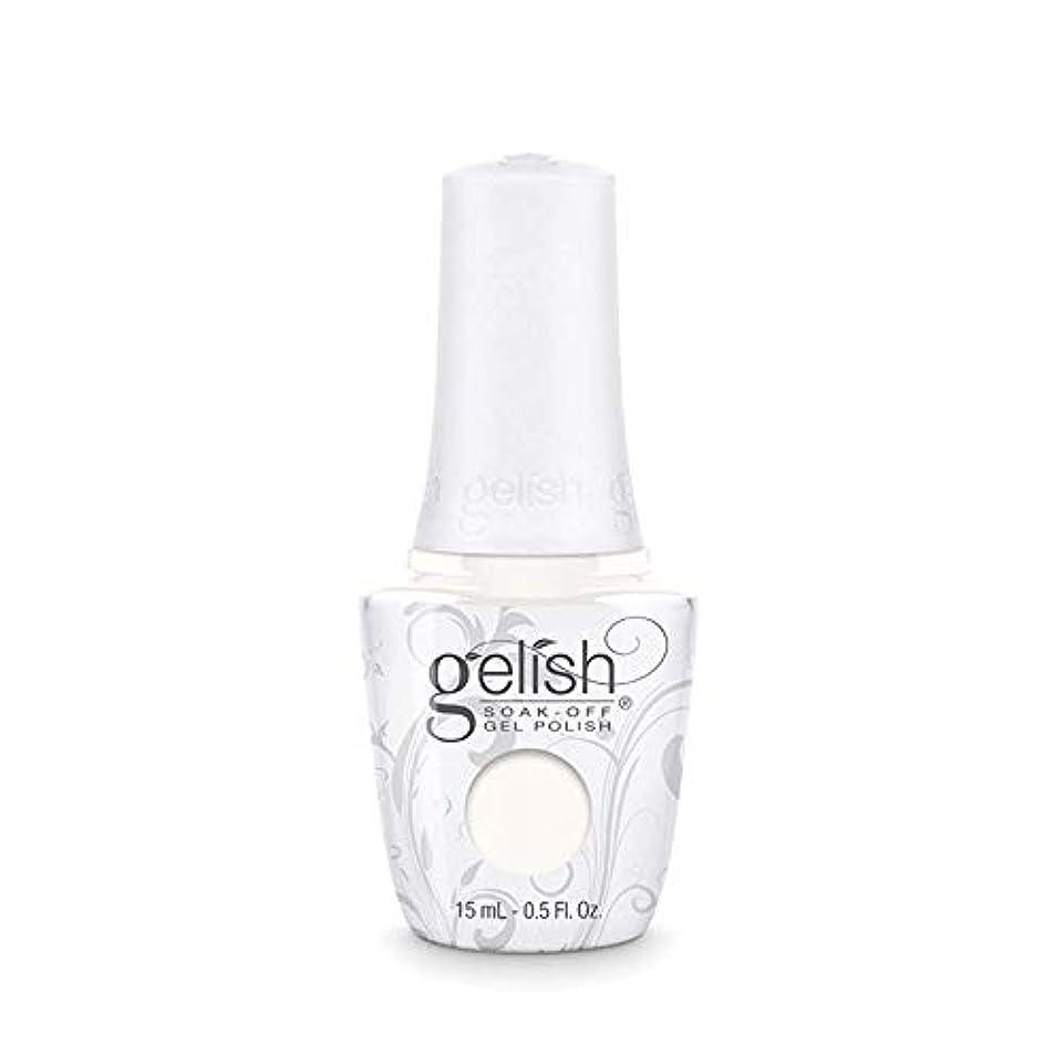 今後採用する皮肉Harmony Gelish Gel Polish - Sheek White - 0.5oz / 15ml