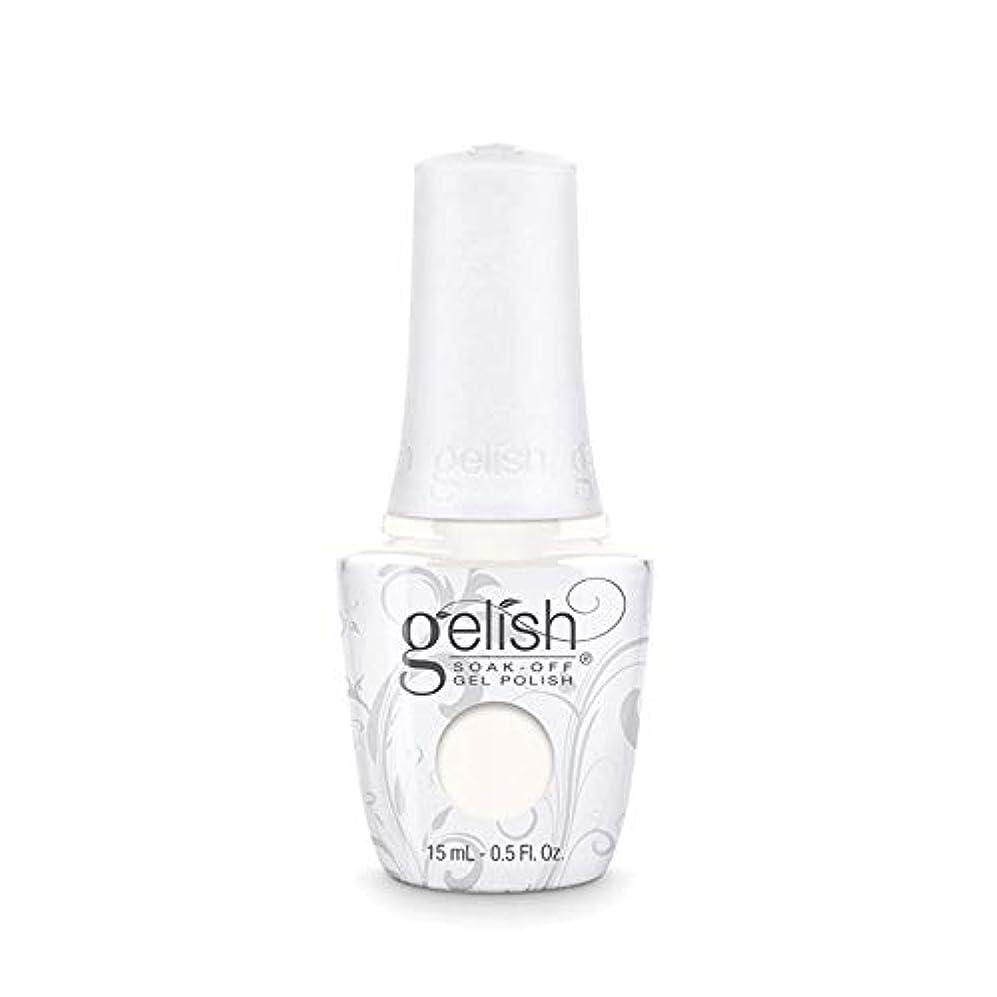 スマイル防ぐ血まみれのHarmony Gelish Gel Polish - Sheek White - 0.5oz / 15ml