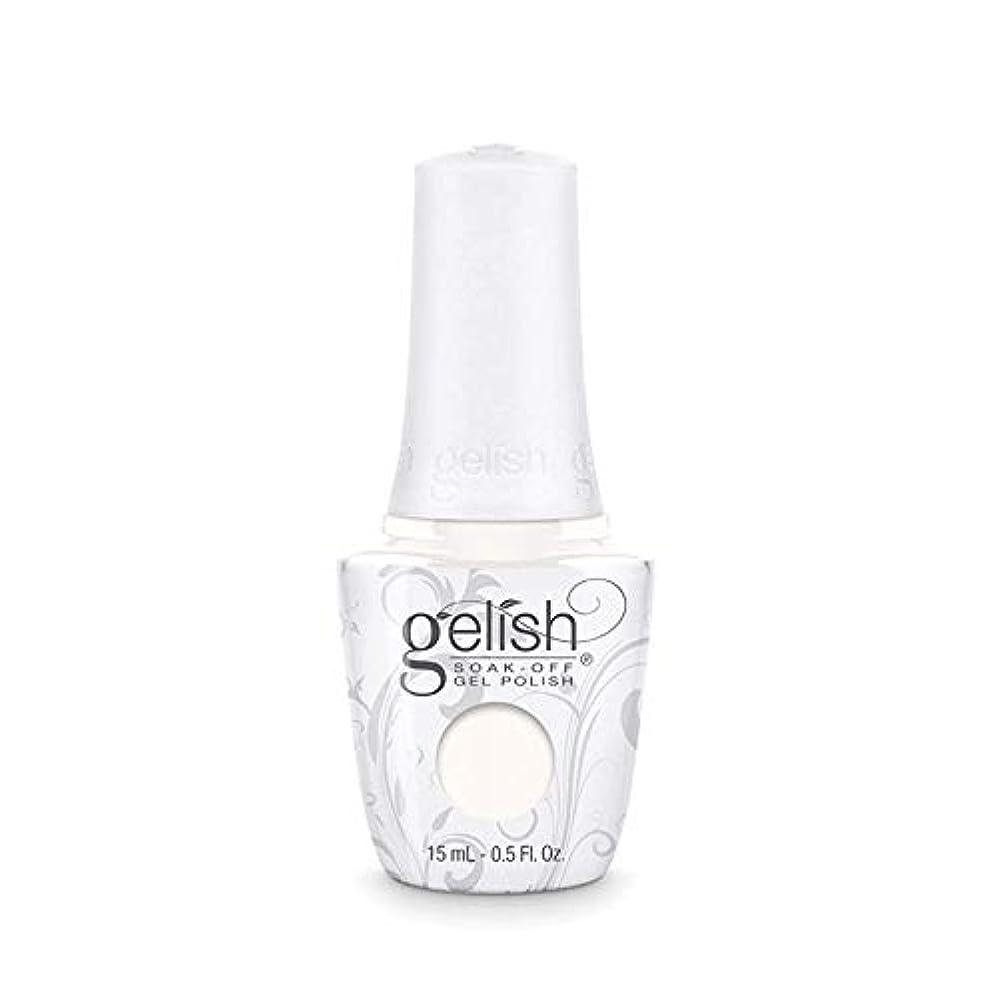 ペグつかむ振動するHarmony Gelish Gel Polish - Sheek White - 0.5oz / 15ml
