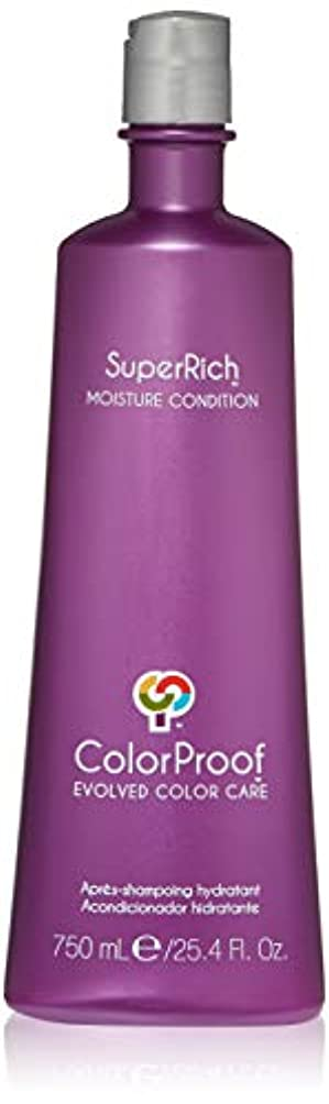 カウンターパート赤ちゃん皮肉なColorProof Super Rich Moisture Conditioner for Unisex, 25.4 Ounce by Colorproof