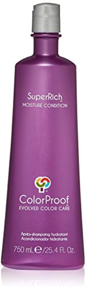 フォーマット待って始まりColorProof Super Rich Moisture Conditioner for Unisex, 25.4 Ounce by Colorproof