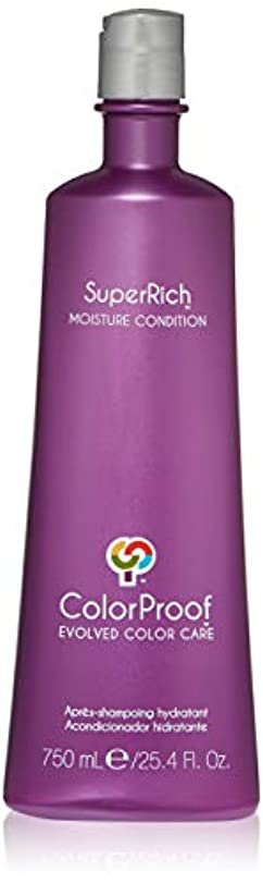 カスケード編集者統合ColorProof Super Rich Moisture Conditioner for Unisex, 25.4 Ounce by Colorproof