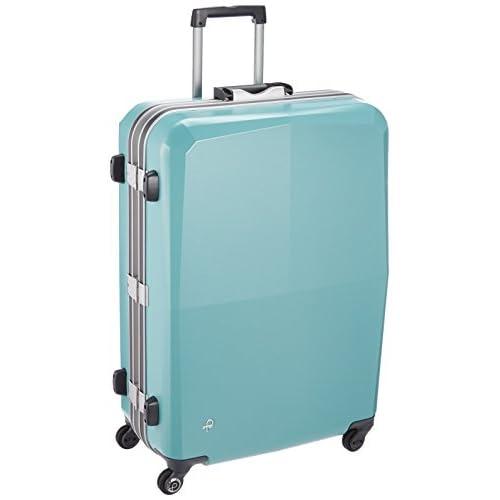 [プロテカ] スーツケース 日本製 エキノックスライトオーレ サイレントキャスター  保証付 81L 68cm 4.6kg 00743 12 ピーコックブルー