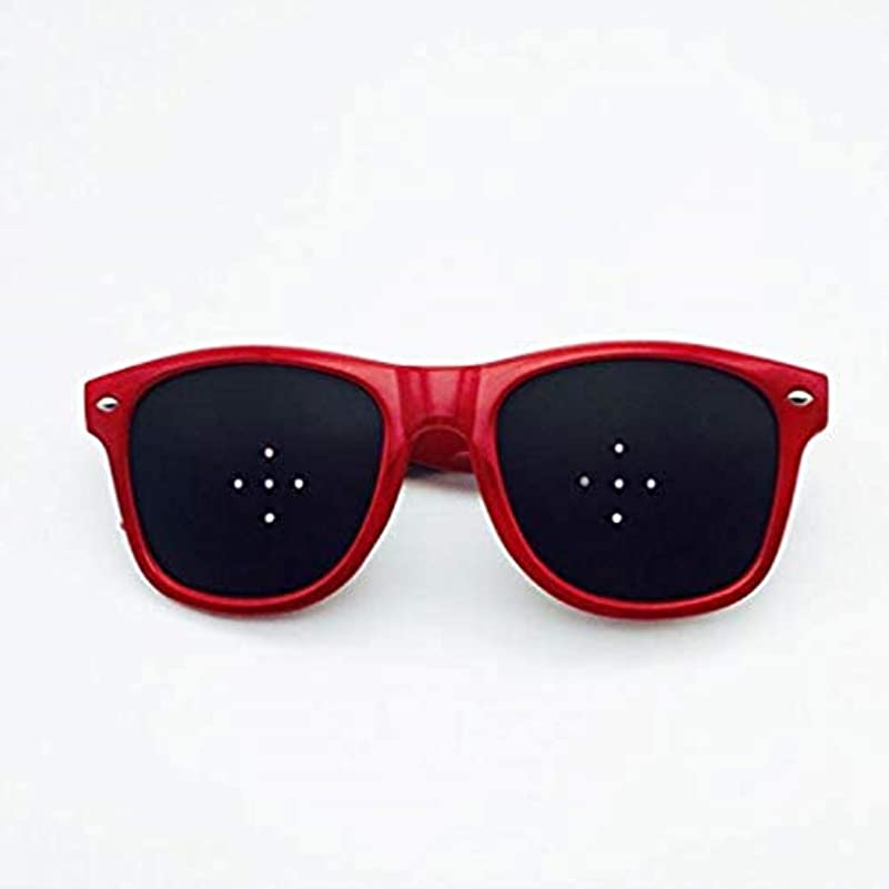 嵐ポール読書をするピンホールメガネ、アイズエクササイズアイサイトビジョンメガネの改善ビジョンケアメガネ近視の防止メガネの改善