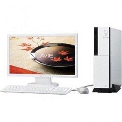 NEC デスクトップパソコンLAVIE Desk Tower DT150/FAW※19.5型ディスプレイ セットモデル(Office Personal Premium プラス Office 365 サービス)PC-DT150FAW