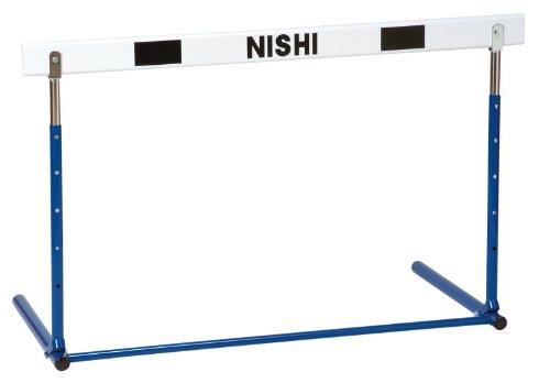 NISHI(ニシ・スポーツ) 陸上競技 ハードル プッシュ調節式ハードル 中学校用 折りたたみ式 G1011C