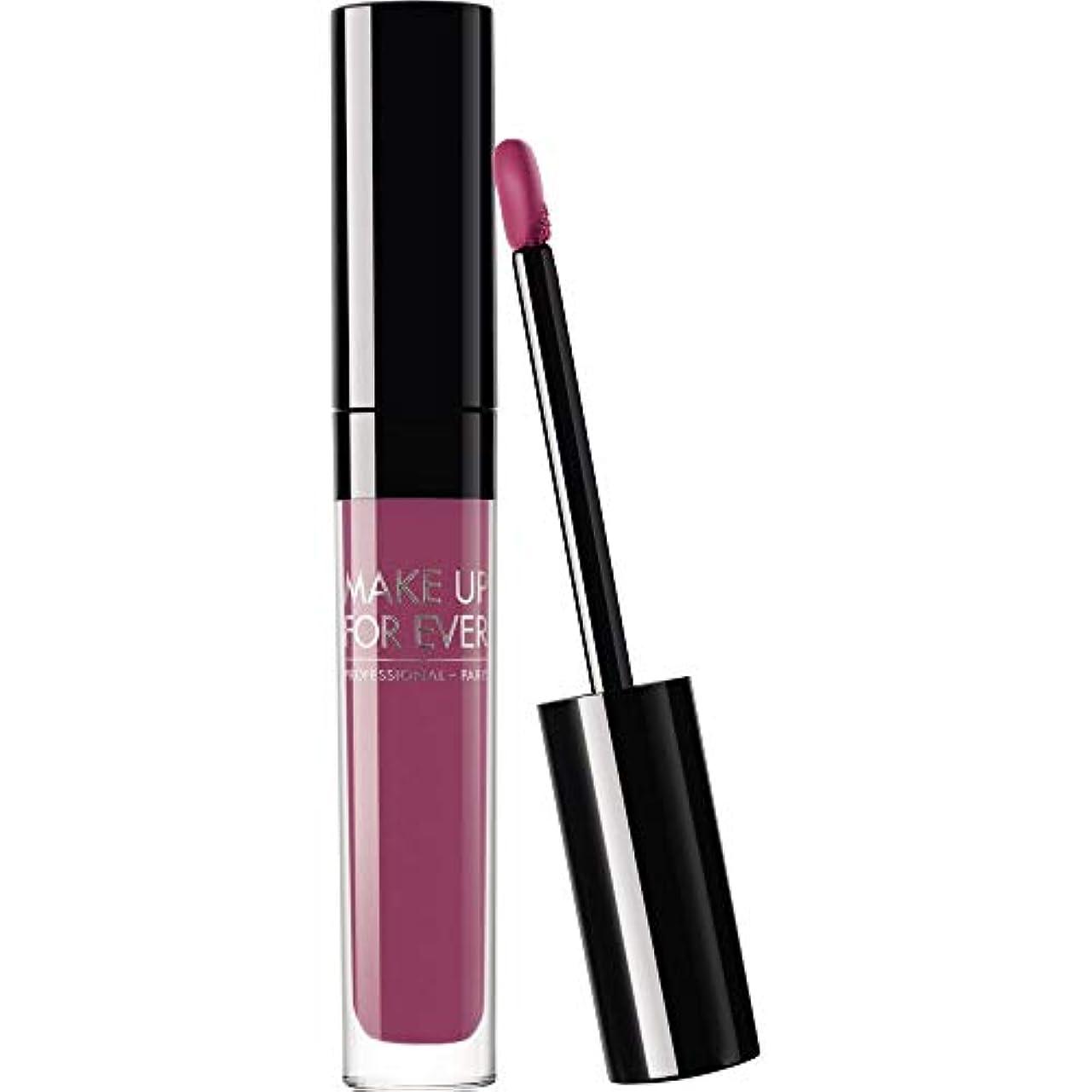 モバイルリテラシー追う[MAKE UP FOR EVER] 205 2.5ミリリットル、これまでアーティストの液体マットリップカラーを補う - Mauvyピンク - MAKE UP FOR EVER Artist Liquid Matte Lip Colour 2.5ml 205 - Mauvy Pink [並行輸入品]