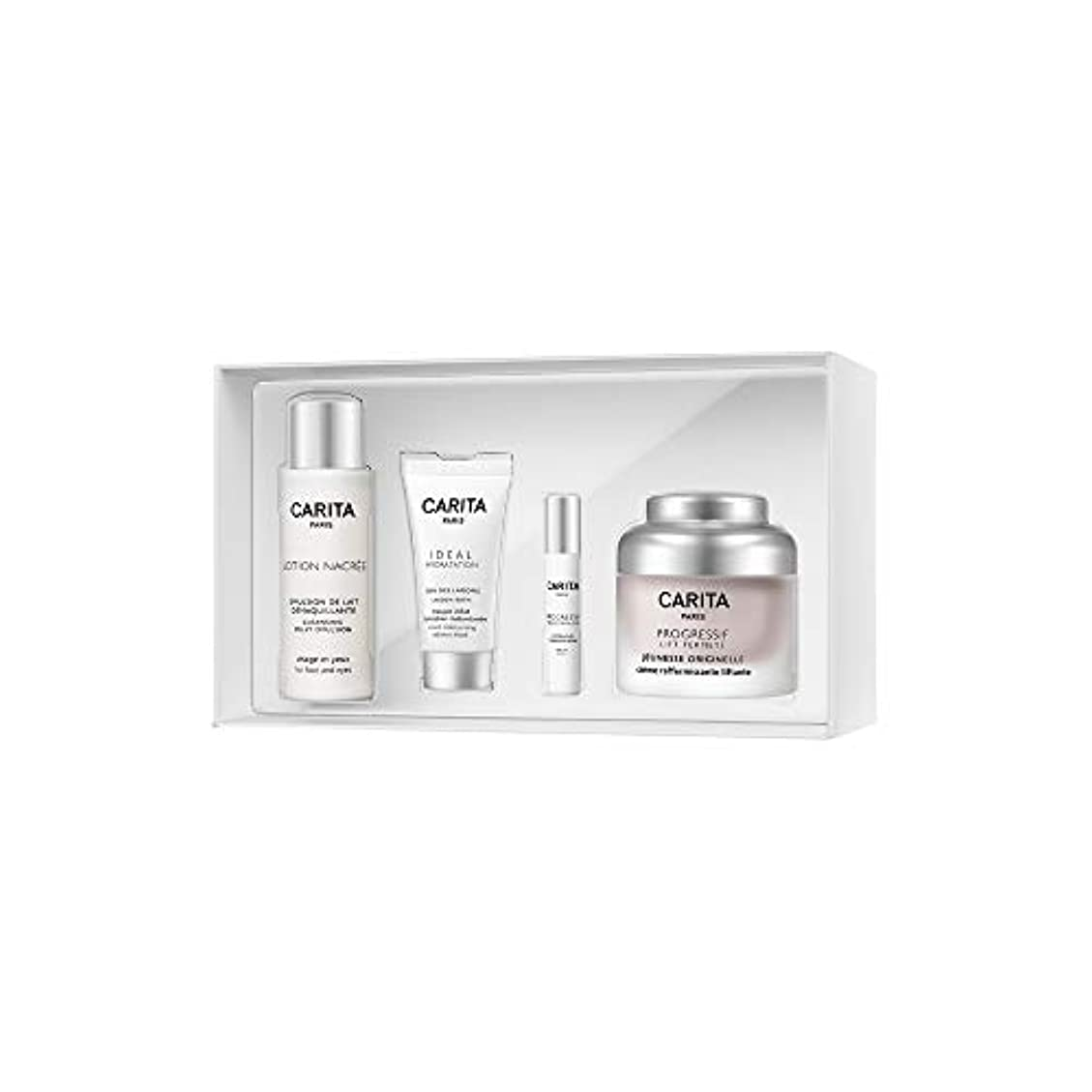 カリタ Paris Back In Time Anti-Age Coffret: Firming Cream 50ml + Cleansing Milky Emulsion 50ml + Radiance Mask 15ml...