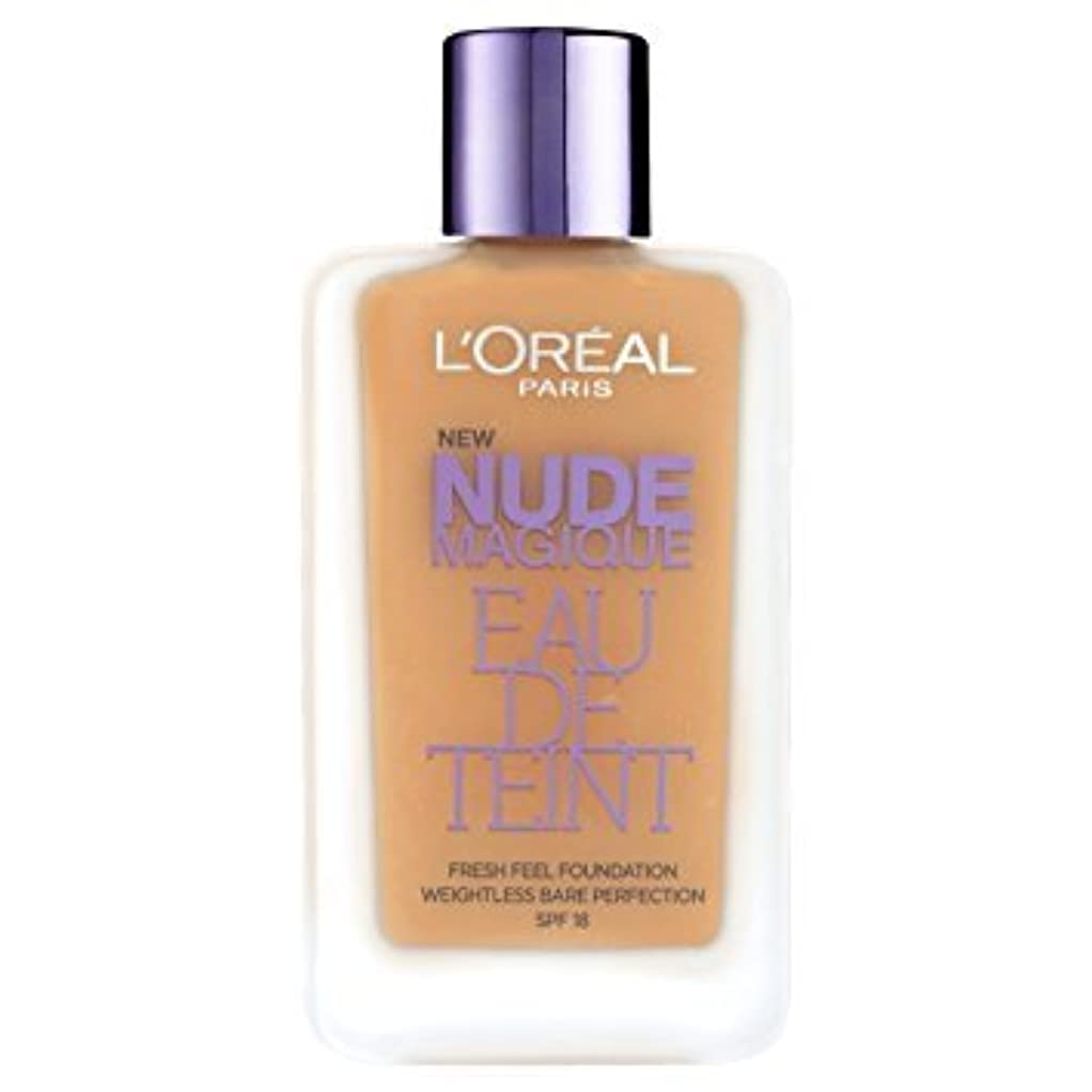ラフト若いアドバイスL 'Oréal Paris - Teint - Nude Magique Eau De Teint - 220 sand gold