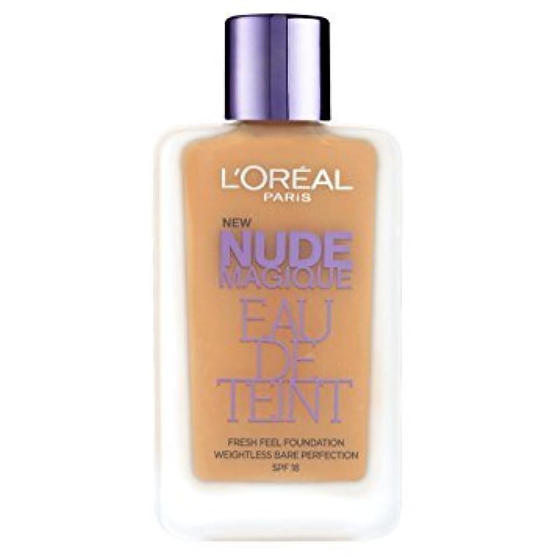 合図援助暴動L 'Oréal Paris - Teint - Nude Magique Eau De Teint - 220 sand gold