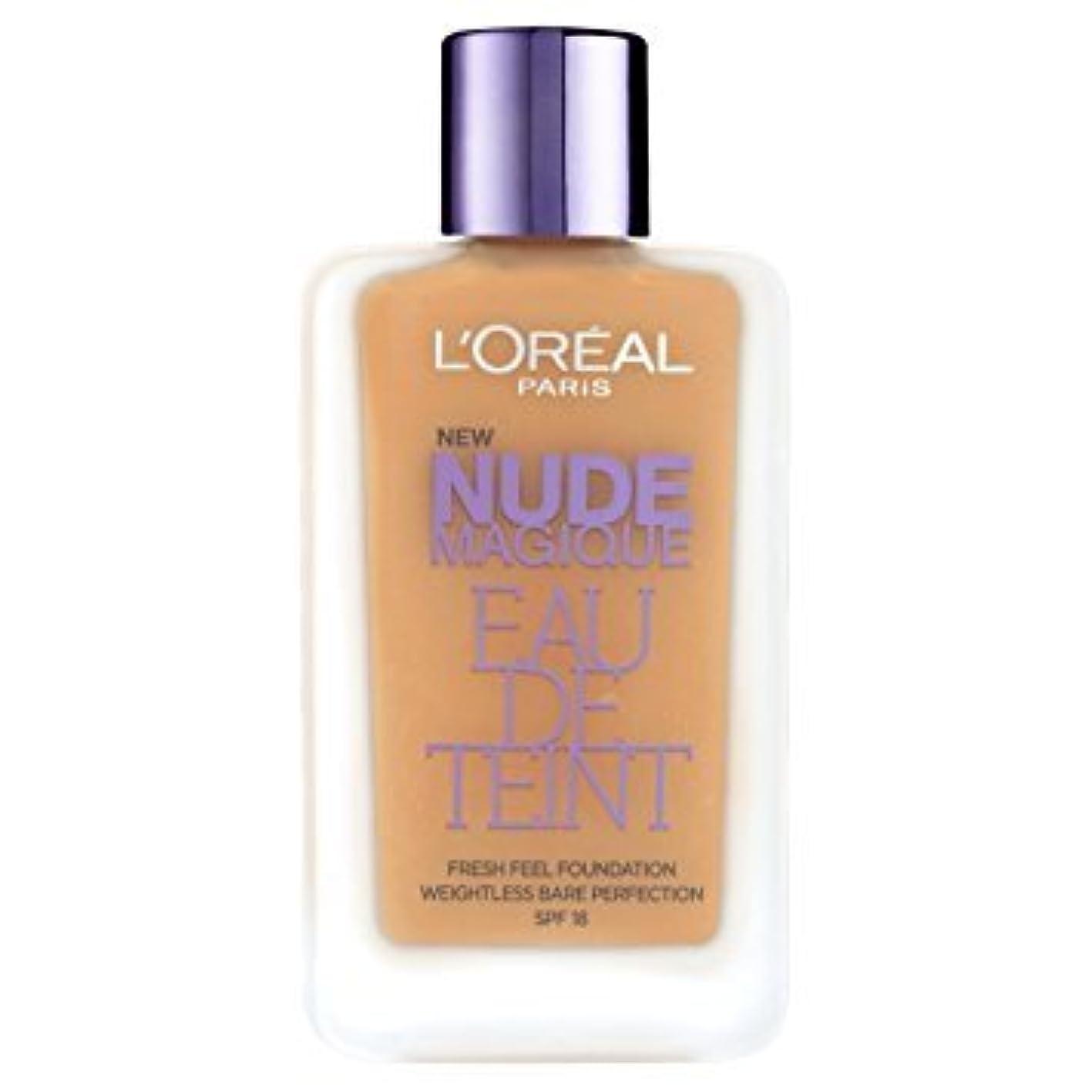 魅力的株式不安定L 'Oréal Paris - Teint - Nude Magique Eau De Teint - 220 sand gold