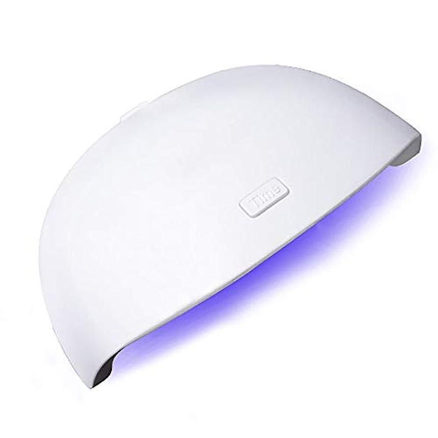 ソートポーン悪因子釘のドライヤー - 自動赤外線センサー、二重光源のLEDランプのゲルのドライヤーのマニキュアが付いている紫外線携帯用LEDの釘ランプ