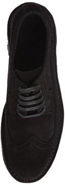 Suede Wing Tip 1331-699-5524: Black
