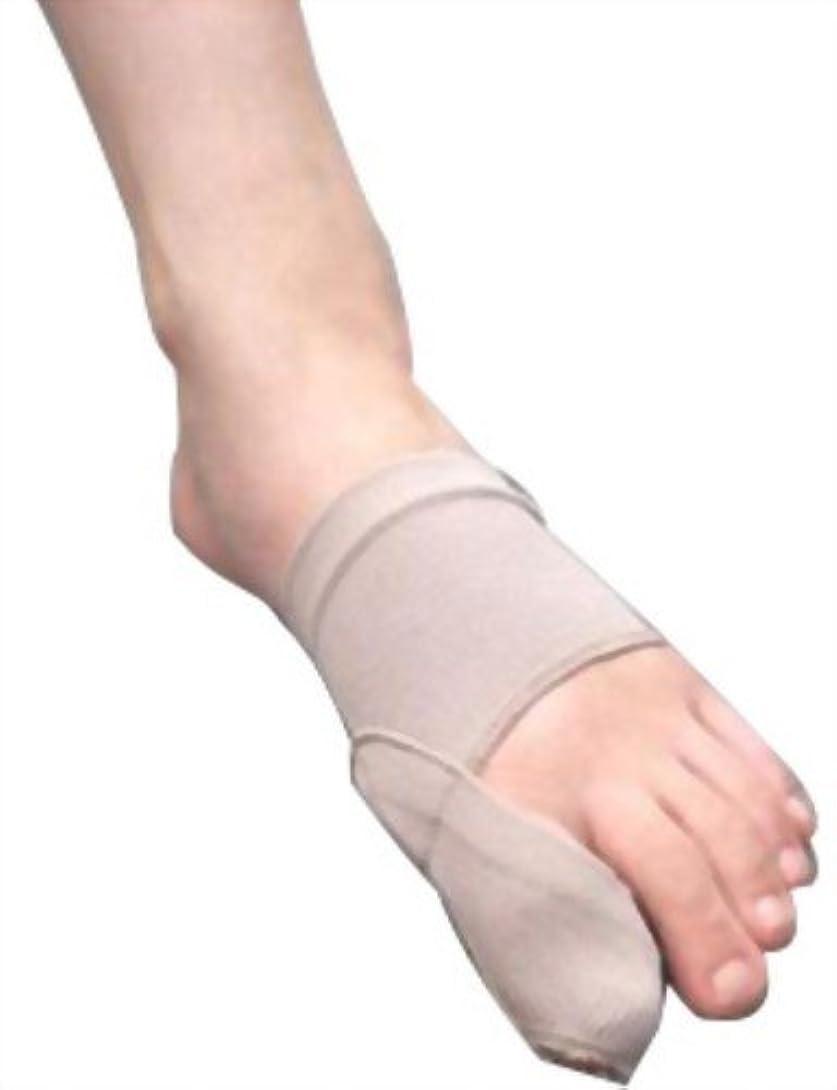 中性クスコジョージエリオット富士パックス販売 「 外反母趾 足楽サポーター 」 左右兼用 1枚入り ソフトタイプ