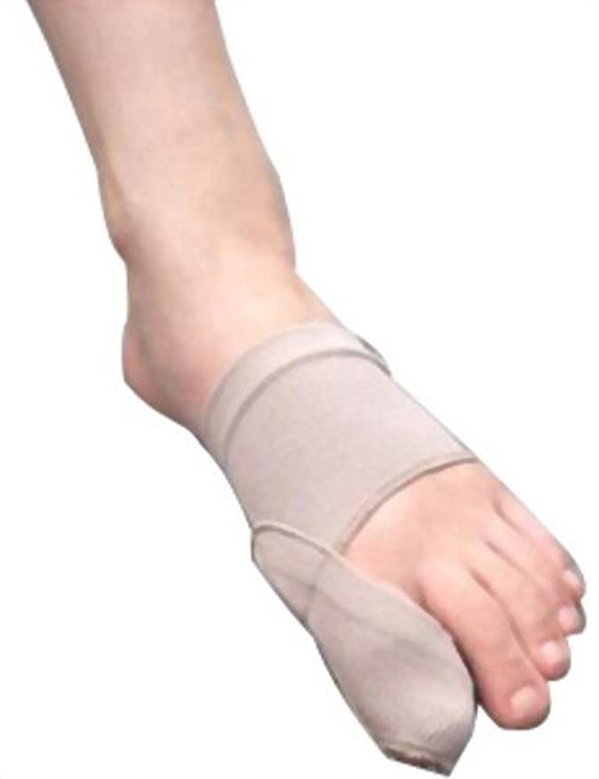 クリーム圧縮するサイレント富士パックス販売 「 外反母趾 足楽サポーター 」 左右兼用 1枚入り ソフトタイプ
