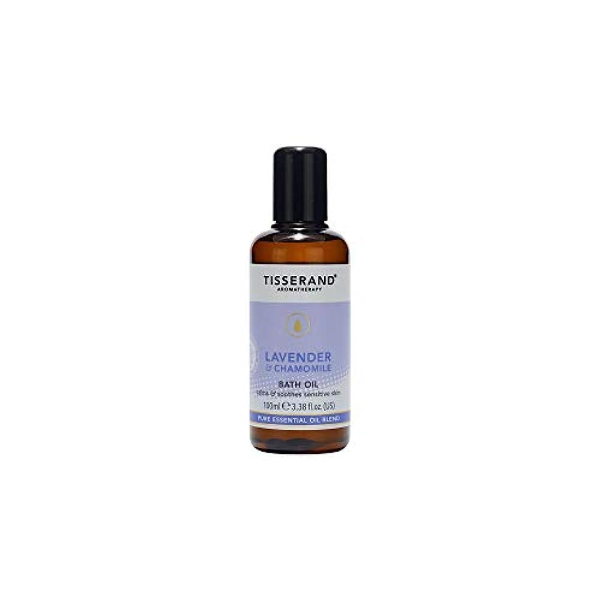 令状安全でないハードウェア[Tisserand] ティスランドアロマラベンダー&カモミールバスオイル100ミリリットル - Tisserand Aromatherapy Lavender & Chamomile Bath Oil 100ml [並行輸入品]