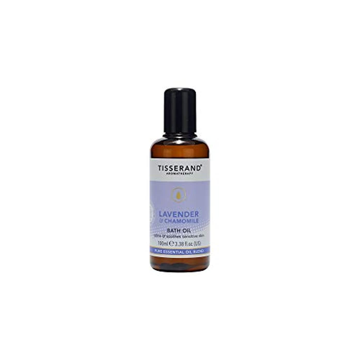 記念日キリスト教タービン[Tisserand] ティスランドアロマラベンダー&カモミールバスオイル100ミリリットル - Tisserand Aromatherapy Lavender & Chamomile Bath Oil 100ml [並行輸入品]