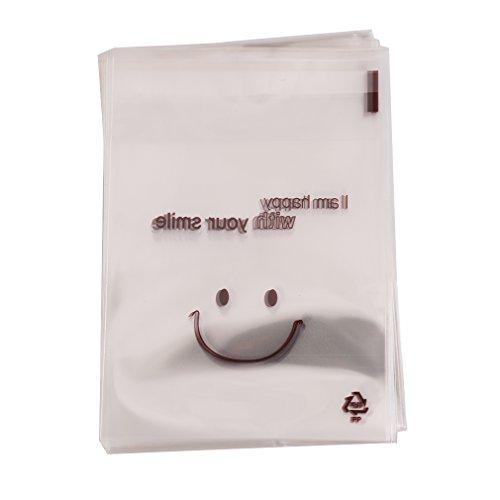 KLUMA 袋 お菓子 チョコレート クッキー キャンディー ビスケット シールバッグ 笑顔 プラス...