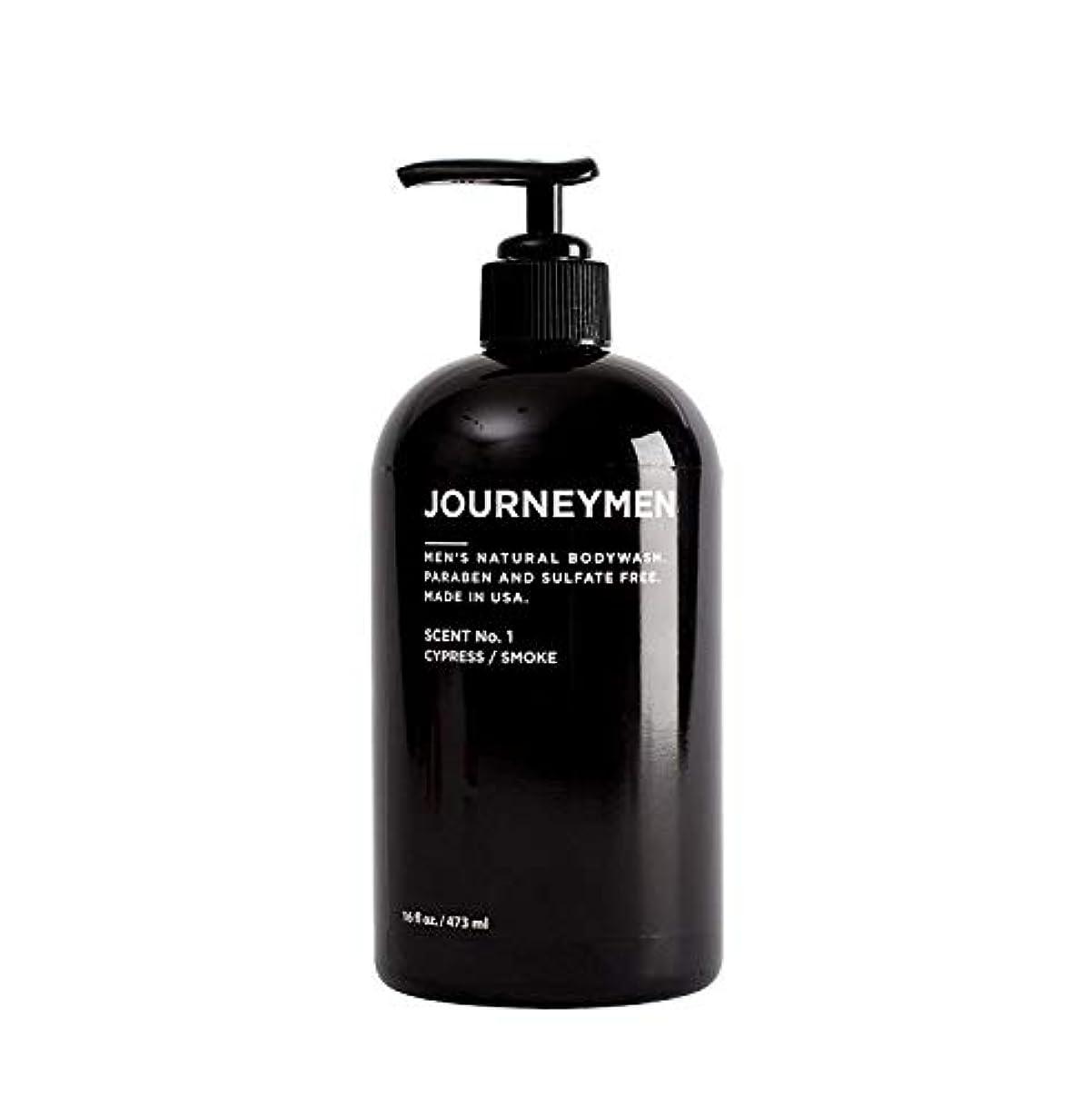 動機メリー激怒Journeymen Natural Body Wash 16 oz/473 ml ジャーニーメンナチュラルボディウォッシュ