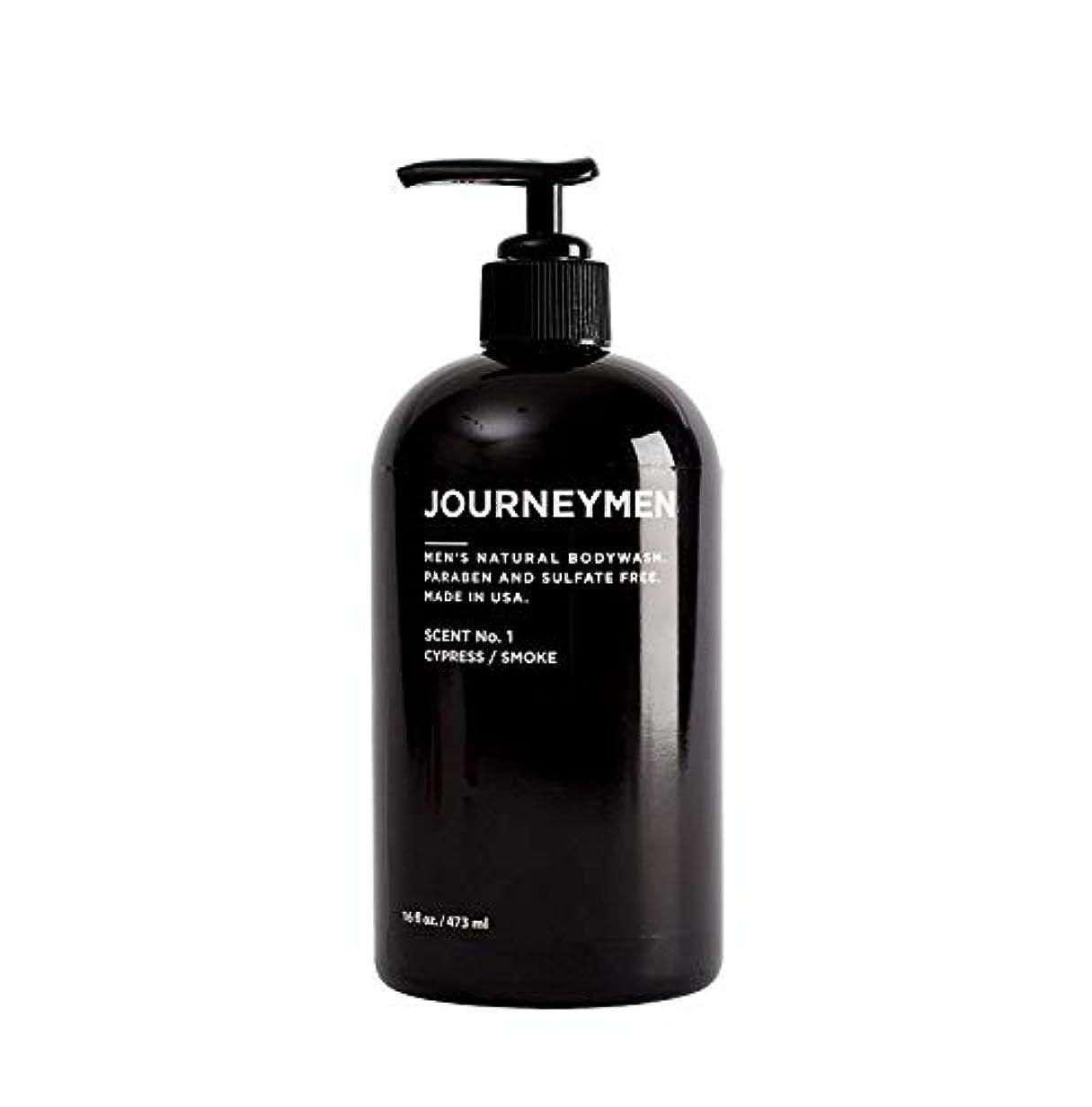 証明する地震蒸留するJourneymen Natural Body Wash 16 oz/473 ml ジャーニーメンナチュラルボディウォッシュ