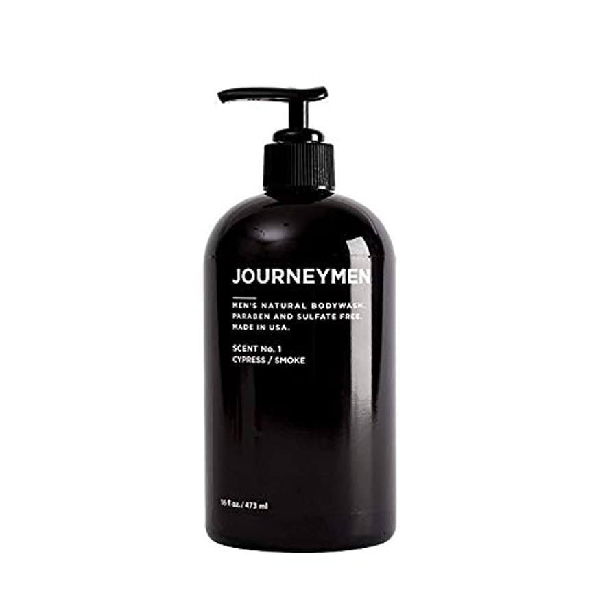 ウッズ差晩餐Journeymen Natural Body Wash 16 oz/473 ml ジャーニーメンナチュラルボディウォッシュ