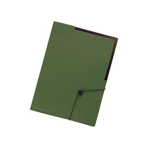 LAB. リヒトラブ キャリングホルダー F7525-22 A4 オリーブ