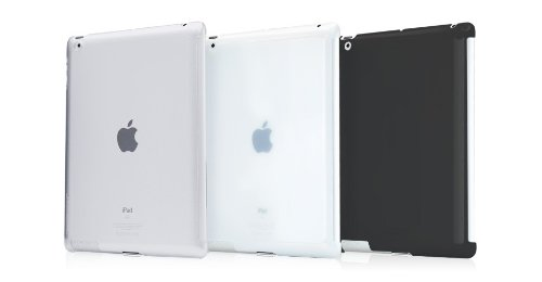 【正規品】TUNEWEAR eggshell for iPad (第3世代)/iPad 2 fits iPad Smart Cover クリア TUN-PD-000088