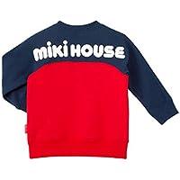 ミキハウス (MIKIHOUSE) トレーナー 13-5601-613 130cm 赤×紺